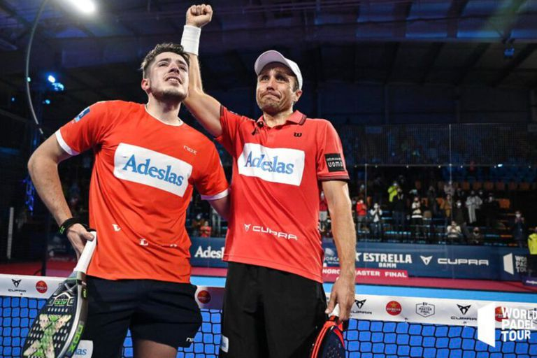 """Maestros del pádel. Campeones de """"extremos"""" con un punto increíble en la final"""