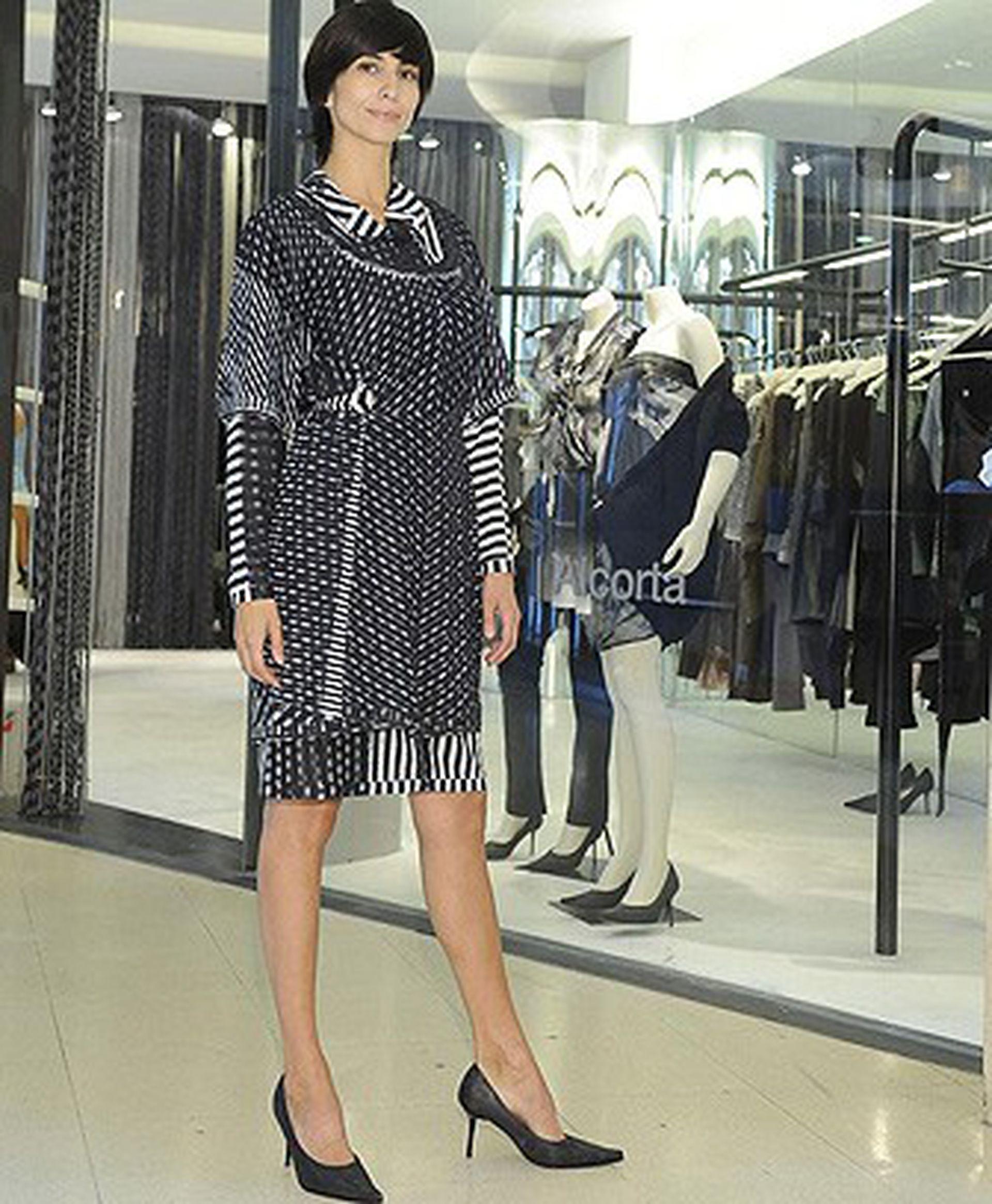 Carolina Peleritti, en tiempos donde era una de las modelos más cotizadas del país