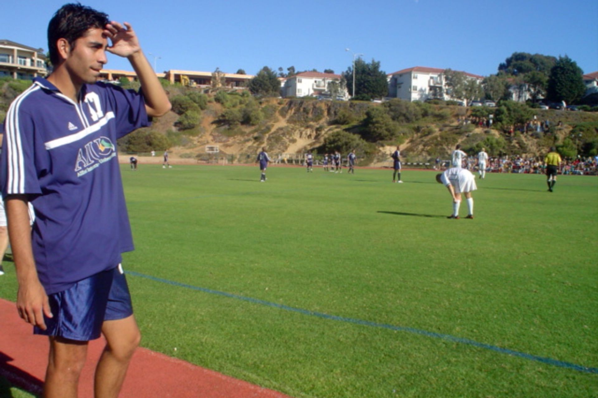 Claudio, en sus días en San Diego.