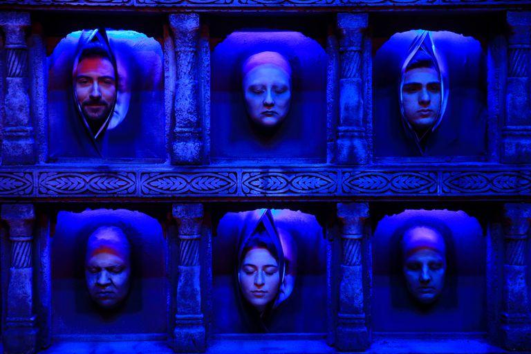 El Wall of Faces con el rostro de los fanáticos