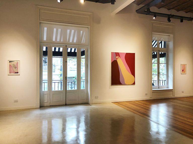 Se exponen pinturas, dibujos y serigrafías que Minujín realizó a ritmo vertiginoso en 1973