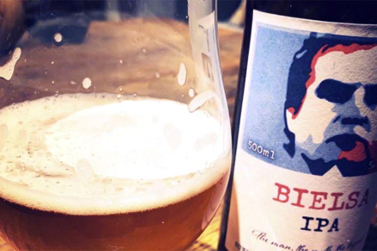La cerveza inspirada en Bielsa, disponible en pubs de Leeds