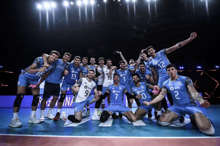 La Argentina le ganó por 3 a 0 a Serbia y sumó su sexta victoria en la Liga de Naciones