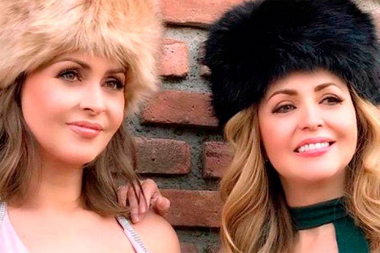 Gabriela Spanic junto a su hermana gemela, Daniela