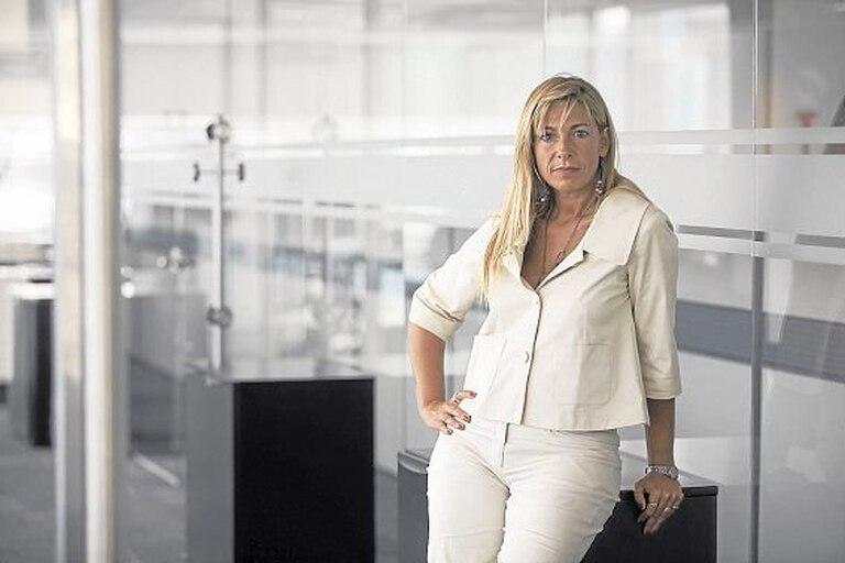 Silvia Tenazhina, gerenta principal de Banca Comercial en Santander