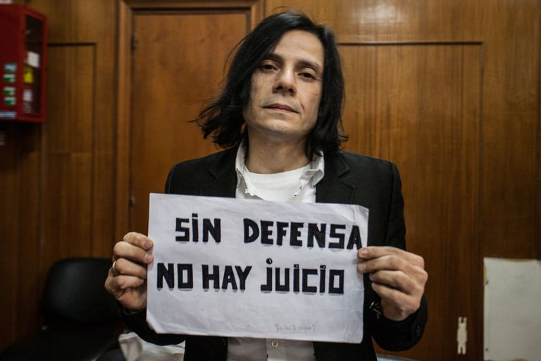 "Cristian Aldana antes de la condena: ""Soy un trofeo de guerra"""