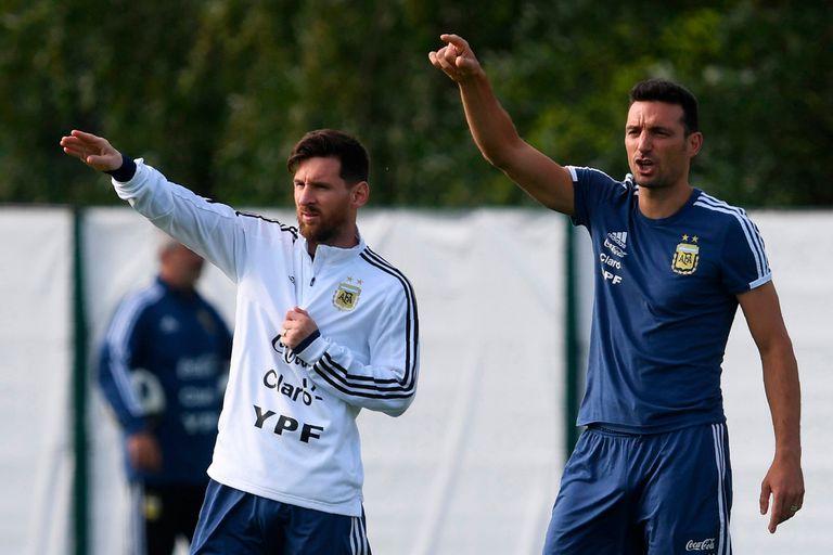 Lionel Scaloni, siente que Lionel Messi llegará bien a la Copa América