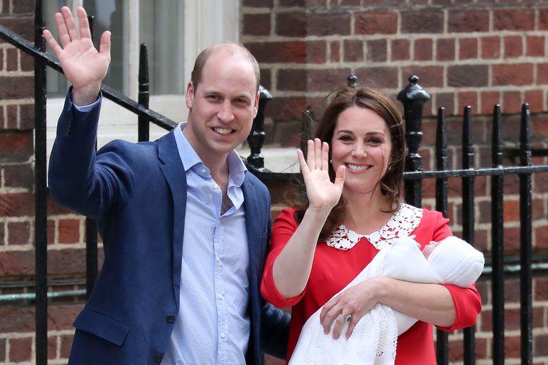 Fin del misterio: el tercer hijo de William y Kate se llama Louis Arthur Charles