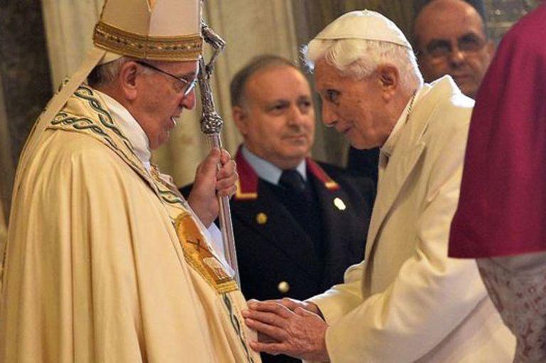 Benedicto XVI renunció al papado en 2013
