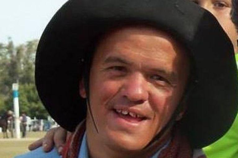 """Federico """"Pepo"""" Schreiber un comediante conocido en el ambiente de las jineteadas"""
