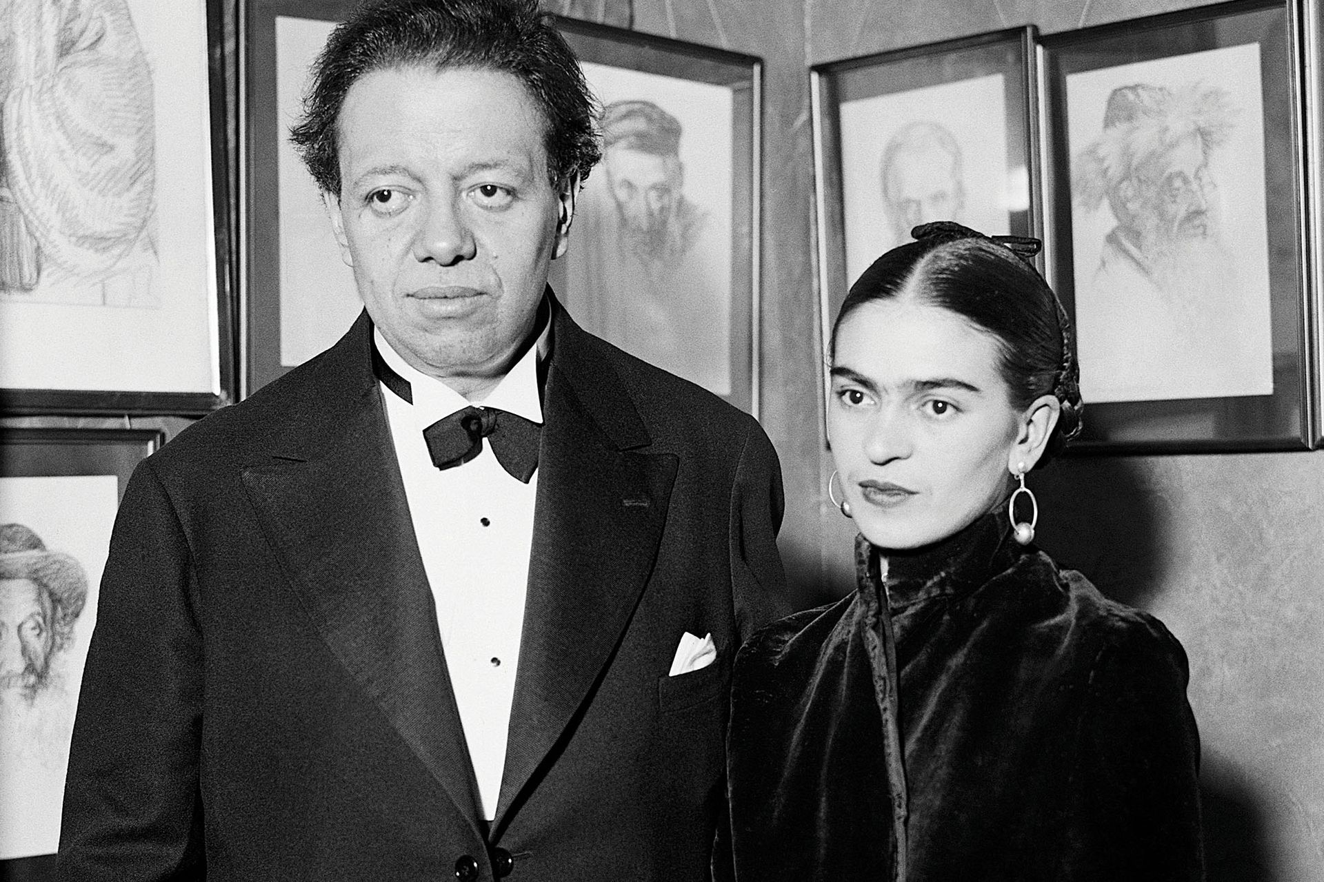 Frida Kahlo tuvo una nutrida correspondencia con Diego Rivera.