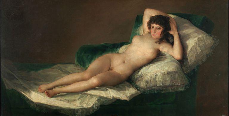"""""""La maja desnuda"""", ¿otra """"escena caliente"""" de la pintura?"""