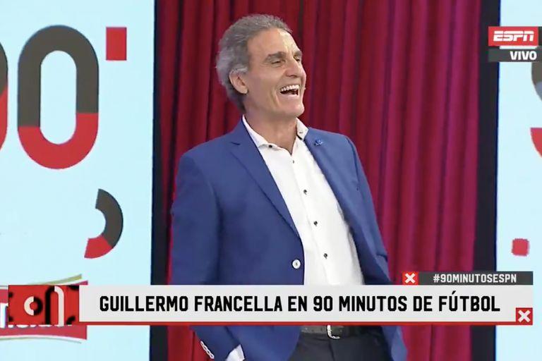 "Oscar Ruggeri recreó una emblemática escena de Guillermo Francella: ""Buen día"""
