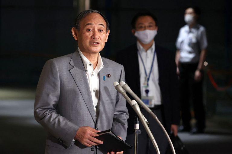 El primer ministro japonés Yoshihide Suga decreta el estado de emergencia en Japón a sólo dos semanas del inicio de los Juegos Olímpicos