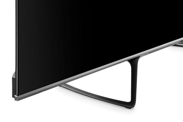 El modelo Black Series de 75 pulgadas de Noblex es Bezelless Design, un aspecto que le permite contar con marcos más pequeños para darle más lugar a la pantalla