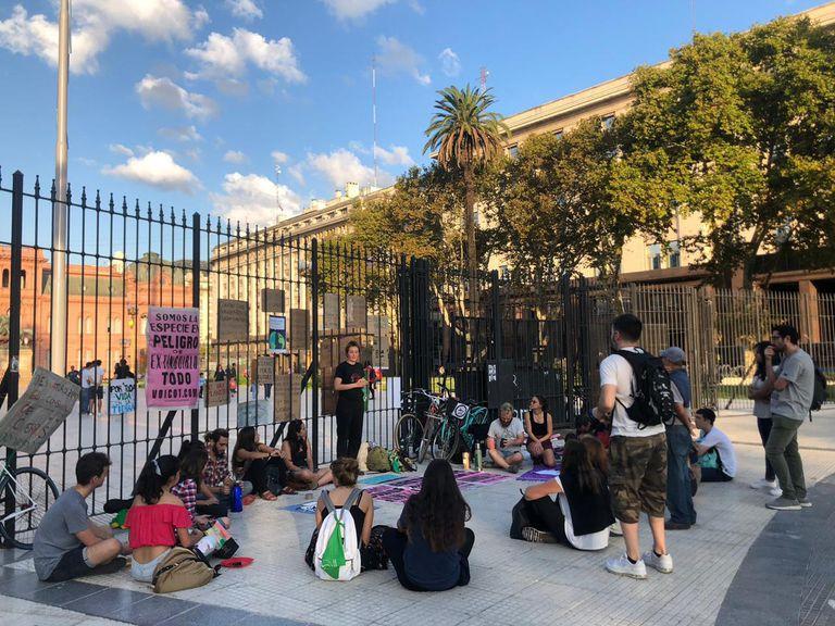 El movimiento Friday for Future, se reúne todos los viernes en Plaza de Mayo