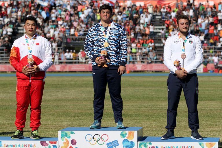 Buenos Aires 2018: el oro de Sasia, una medalla que se gestó hace mucho tiempo