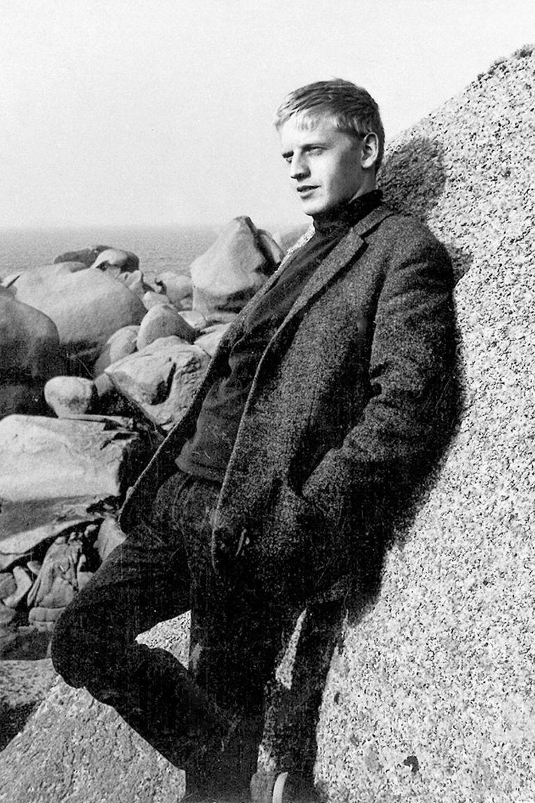 Volker, padre de la escritora e hijo de Karl Schwarz
