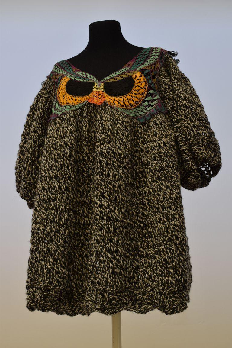 Una pieza súper elaborada de Juana de Arco, que está en proceso de donación al Museo Nacional de la Historia del Traje