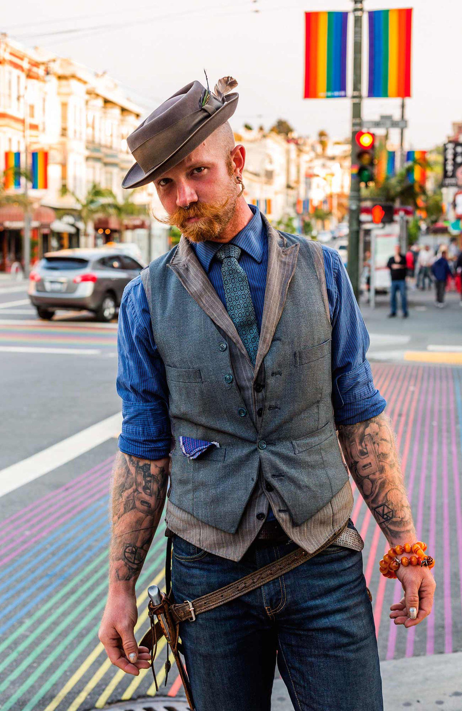 Residente de Castro, barrio gay que cobró fama a partir de la película Castro.