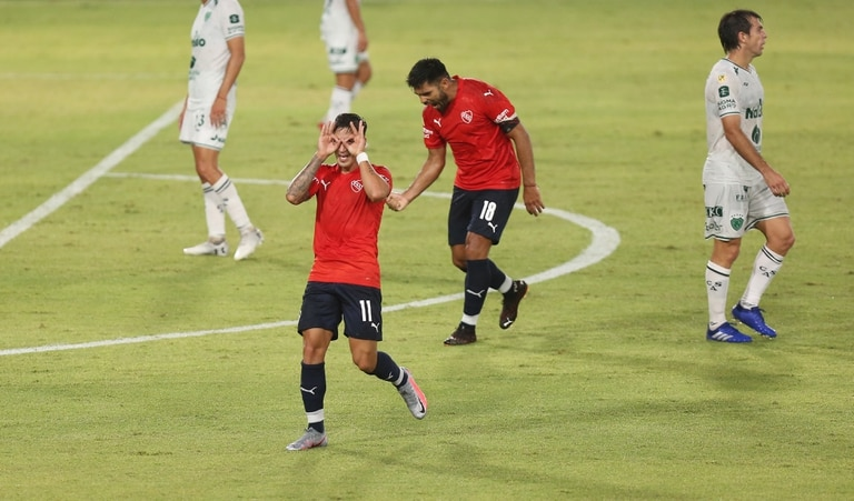 Copa de la Liga 2021 Independiente vs Sarmiento Gol de Menendez 15-03-2021 ALFIERI MAURO