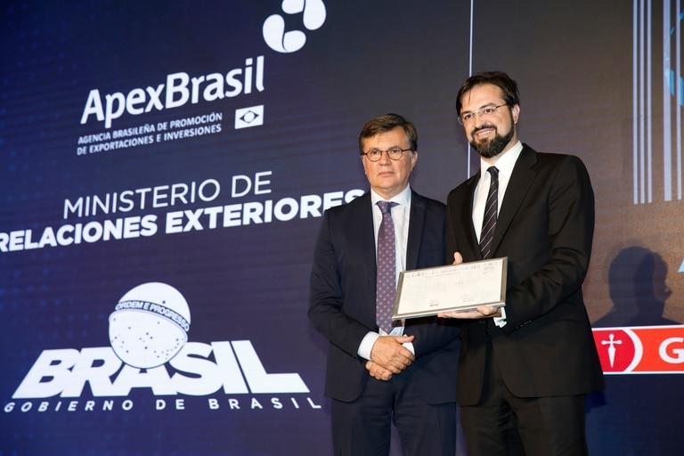 Premio Aliment.AR a la excelencia agroexportadora, mención para Brasil