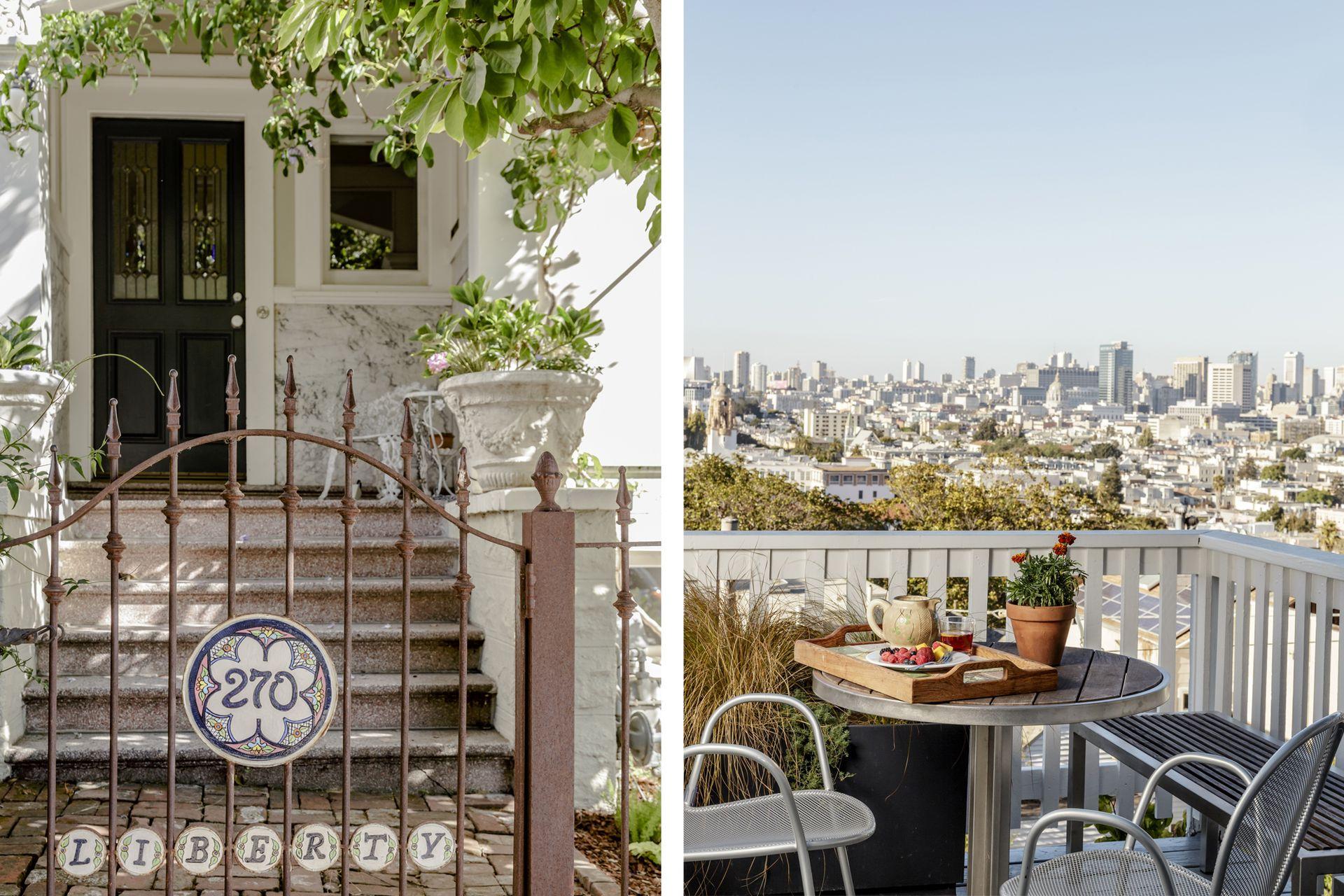"""""""Nuestra"""" casa victoriana en Liberty St. ¿Hay una palabra que represente mejor lo que significa San Francisco?"""