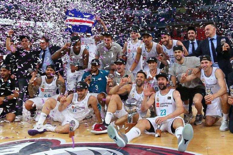 Facundo Campazzo brilló y Real Madrid es campeón de la Liga de España