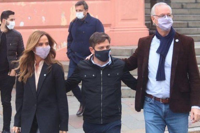 Tolosa Paz desafió a Santilli y Manes a un debate tras su primer acto de campaña