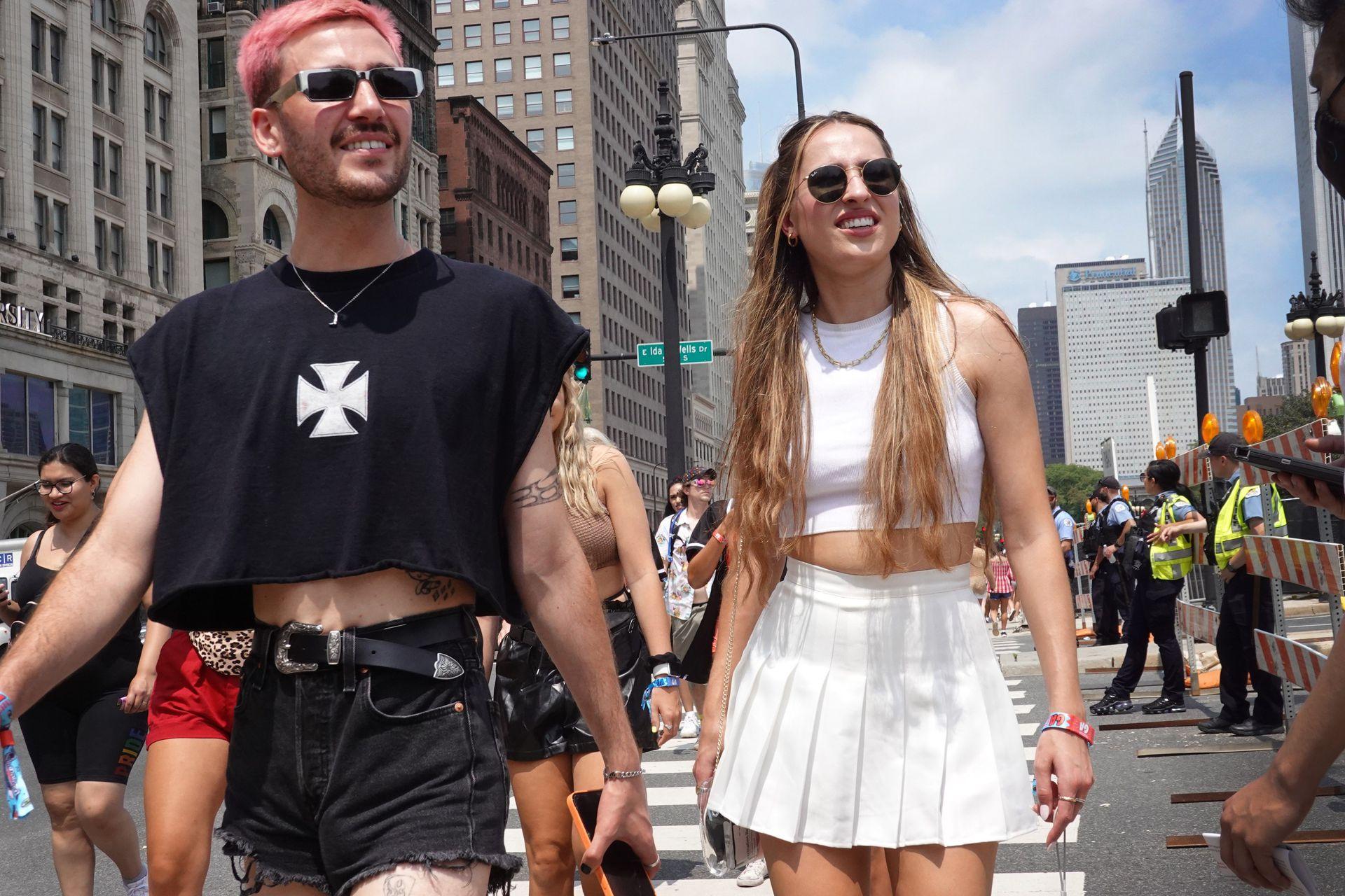 Estilos diversos tanto para hombres como mujeres en Lollapalooza Chicago
