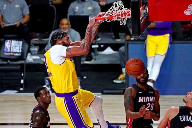 Final de NBA: Anthony Davis, el príncipe de los Lakers que elogia LeBron James