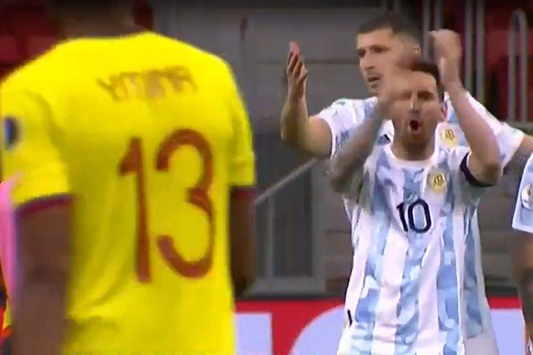 Lionel Messi y una dedicatoria especial para Yerry Mina
