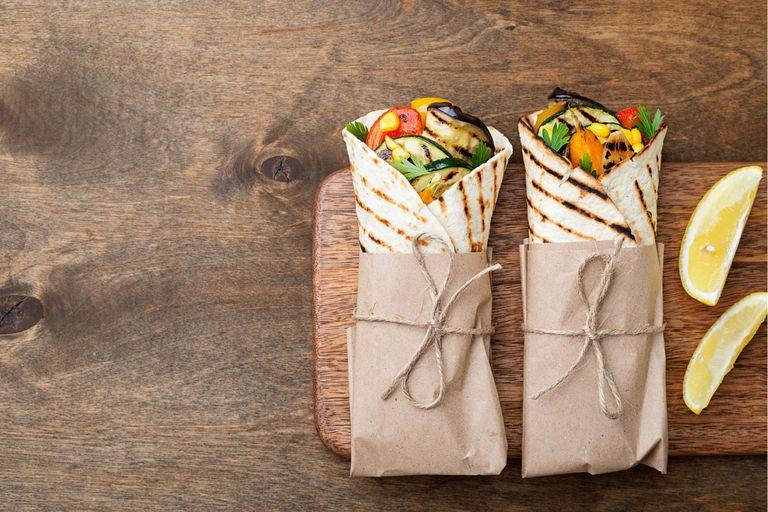 Rellenos de sándwiches o tacos para comer en cualquier momento del día