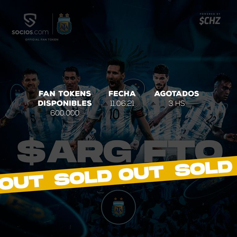 Los tokens, una inversión que a la AFA le genera sus ingresos con el seleccionado argentino