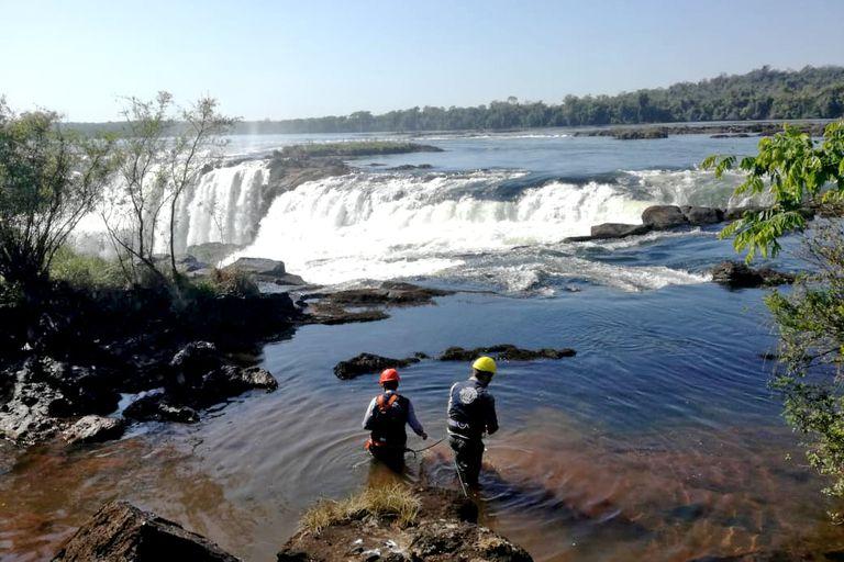 Cataratas de Iguazú: recuperan noventa kilos de monedas