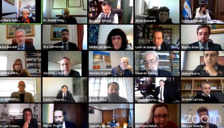 La audiencia oral y pública por la causa del Pacto con Irán
