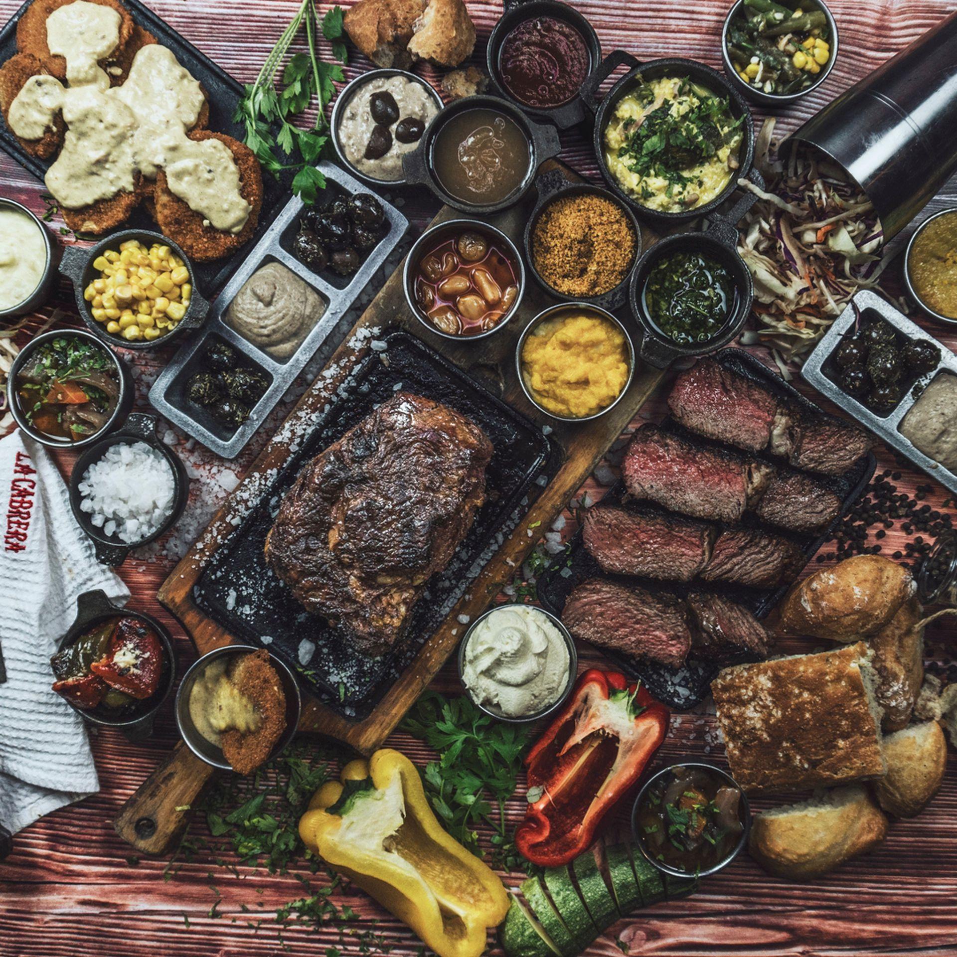 Las carnes en el centro de la propuesta de La Cabrera para las Fiestas