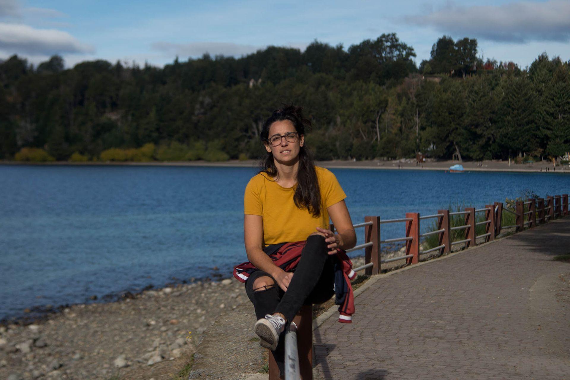 Por la experiencia del año pasado, cuando estuvo muchos meses sin poder hacer actividades por las restricciones, Paula López se mudó temporariamente a Villa La Angostura
