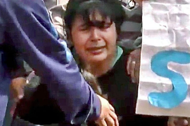 """""""Tienen que estar presos, que no salgan nunca más"""", dijo la madre de Sheila"""
