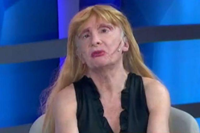 Zulma Lobato contó en el programa Crónicas 2021 que está sin trabajo hace un año y medio y la jubilación mínima no le alcanza. Fuente: Crónica TV