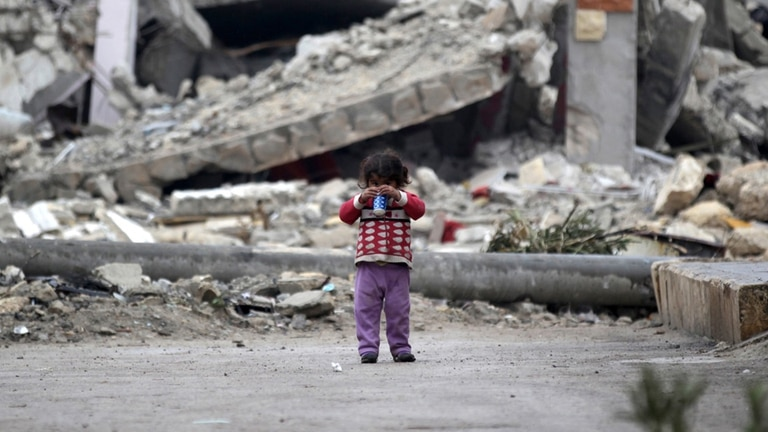 Hay alrededor de seis millones de niños sirios refugiados