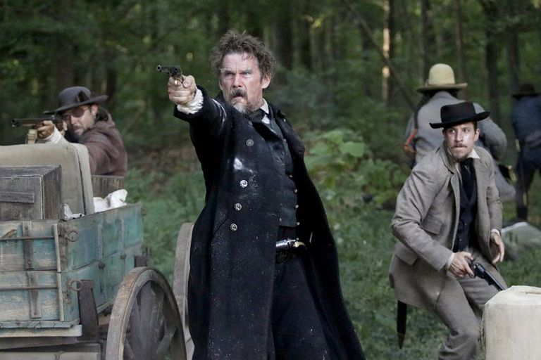 Ethan Hawke como John Brown, en la serie The Good Lord Bird, de Paramount +, un papel que le valió nominaciones al Globo de Oro y al SAG