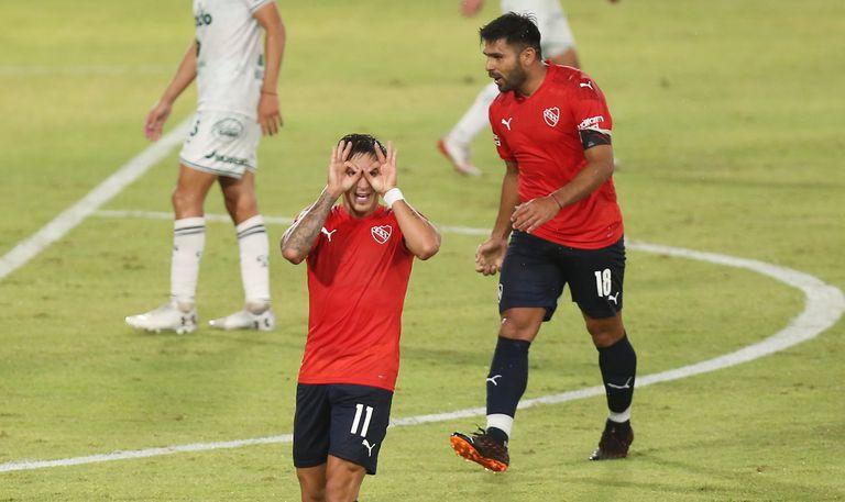 Show de goles: Independiente le ganó 6-0 a Sarmiento con su tridente explosivo