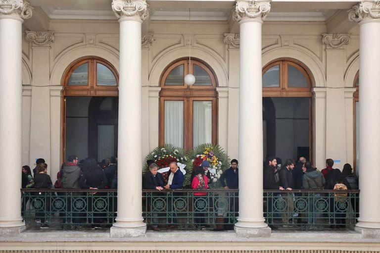 El velorio de Chicha Mariani se celebró en el Rectorado de la Universidad Nacional de La Plata