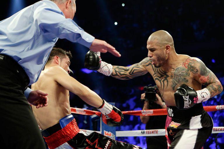 Las postales del boxeo argentino en 2014