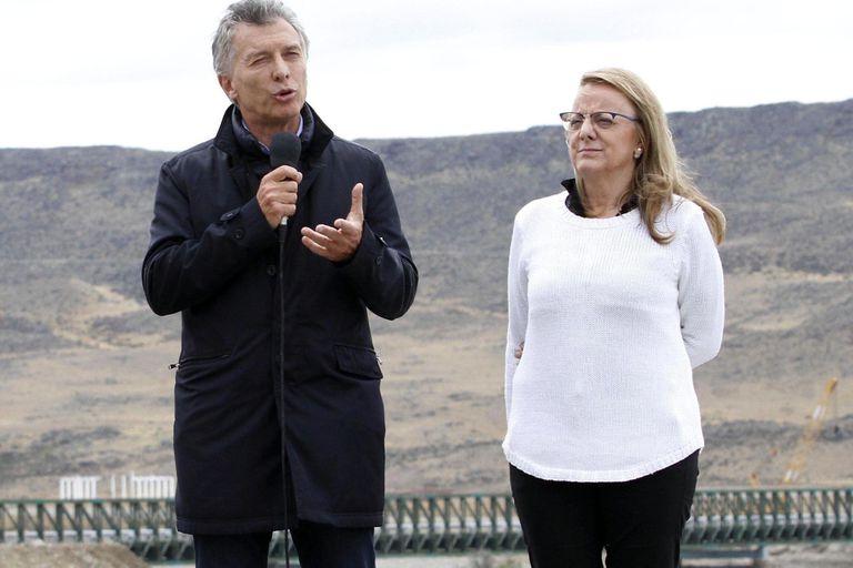 Macri y Alicia Kirchner, el lunes 14, en Santa Cruz