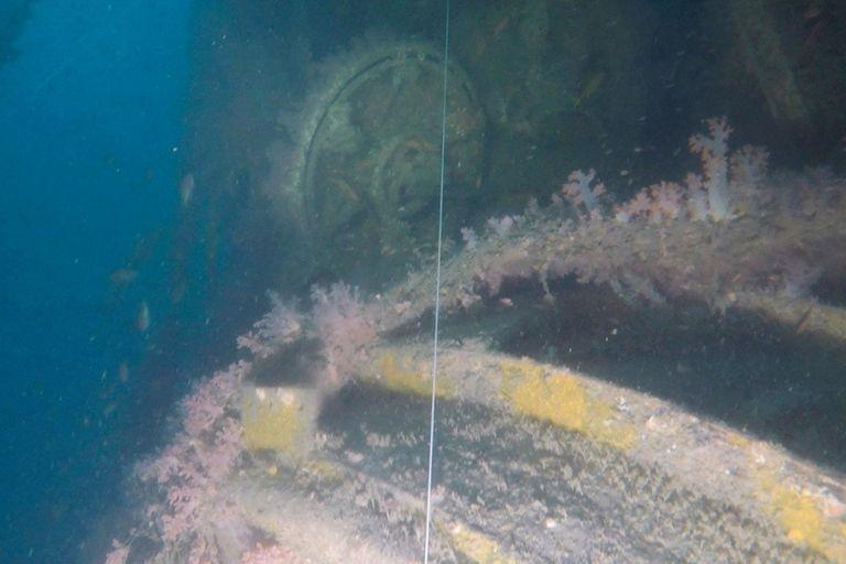 Naufragio: hallan restos de un submarino perdido en la Segunda Guerra Mundial