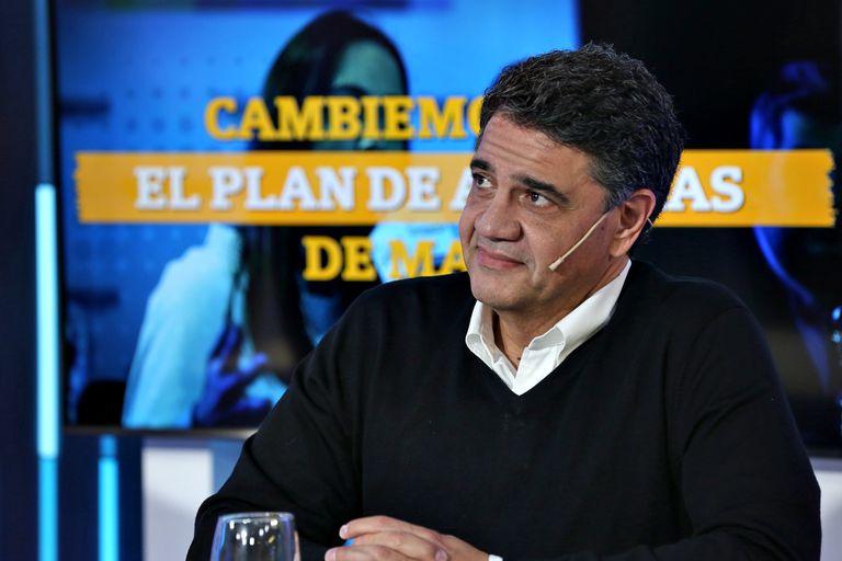 """""""Fue un ejemplo de trabajo y esfuerzo"""", dijo Jorge Macri sobre su tío Franco"""