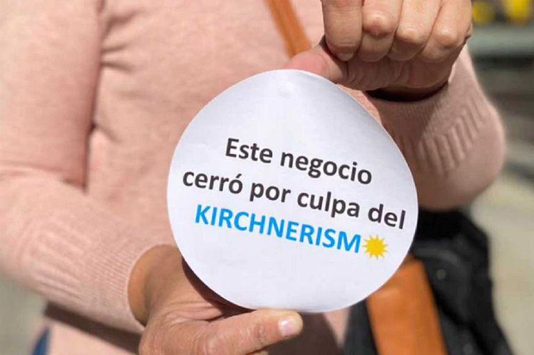 La diputada Soher el Zucaría de Juntos por el Cambio inició una campaña por la crisis.
