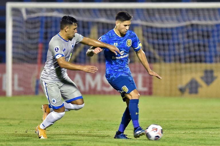 Rosario Central volvió a los torneos internacionales con una derrota en Luque